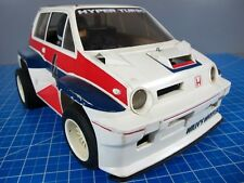 Vintage Original Tamiya 1/10 R/C 1983 Honda City Willy's Wheeler Turbo Rare!!