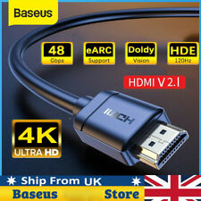 More details for hdmi cable v2.0 1m/2m-5m high speed 4k ultrahd 2160p 3d lead connector a/b