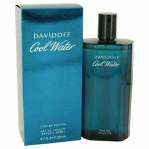 DAVIDOFF COOL WATER  HOMME  EAU DE TOILETTE 200ML SPRAY NEUF SOUS BLISTER
