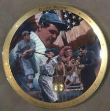 "1995 Franklin Mint Royal Doulton BABE RUTH 8"" Collector Plate !!"