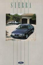 Ford Sierra CLX 4x4 GL Ghia xr4i Sport Youngtimer folleto brochure 1990 65