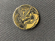 Pokemon TCG x1 MEGA RAYQUAZA Card Game GOLD Coin - LARGE