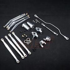 Xtra Speed Aluminium 6061 T6 Performance Combo Set Silver Axial Wraith #CB0975