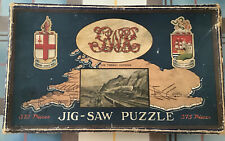 Chad Valley Co - Vintage Wooden Jigsaw Puzzle - The Torbay Express