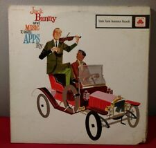Jack Benny and Music to Write APPS By State Farm Insurance Records Rare  LP