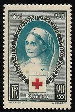FRANCE 1939 75th ANNIV OF RED CROSS SOCIETY  SG 634 MLH