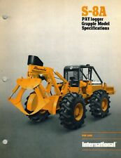 International Vintage S-8A Paylogger Grapple Model Specifications Brochure