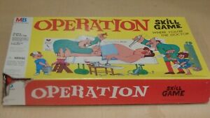 Operation Skill Game Board Game 1999 Vintage Doctor Surgery Children Kids