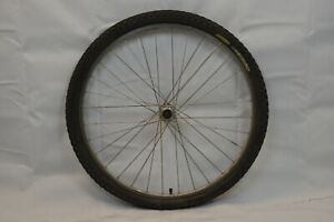"Rear 26"" MTB Bike Wheel OLW135 17mm 32S Shimano STX Hub FH-MC30 Freehub Charity!"