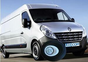 LED Day Running Lights Kit DRL Renault Master, Nissan NV400 - to paint