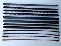 ✅ 12 neue Sägeblätter für King Craft KFZ 400 R Dekupiersäge 135 / 127 mm  ✅