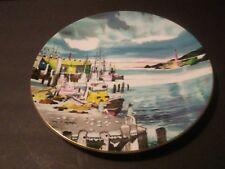 "Royal Doulton 10"" D Collector Plate Fisherman's Wharf San Francisco Dong Kingman"