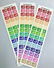 42 Oil Change Reminder Stickers for Various Types of Planners (#211)