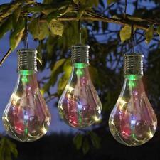 solaire rotatif jardin d'extérieur Camping pendant lumière DEL Ampoule Lampe
