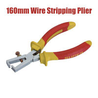 "6"" Adjustable Wire Stripping Plier Manual Wire Stripper Cable Strippers"