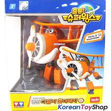 Super Wings DAALJI / Grand Albert Transformer Robot Toy Old Airplane Plane