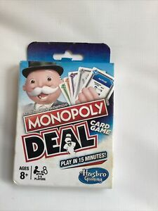 Hasbro Monopoly Deal Card Game Age 8+ Damaged Box