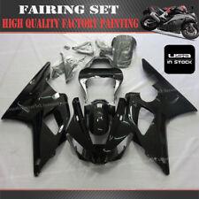 Professional Painting Fairing Kit For Yamaha YZF R1 2000-2001 Bodywork Set Black