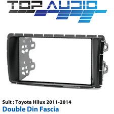 Toyota Hilux stereo radio Double 2 Din facia kit fascia dash trim plate