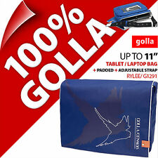 "Golla Tablet Laptop Netbook Bag Case Padded Strap For 11"" Fits 11.6"" 9.7"""