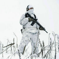 MULTICAM ALPINE NEW Camouflage Snow White Winter Militaria Hunting Airsoft Light