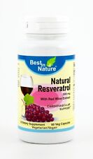 Best in Nature Resveratrol Nature 200mg 60 capsules