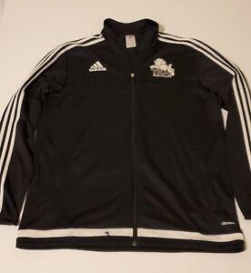 Adidas Tiro ClimaCool Full Zip TKA Soccer Training Jacket Black Size Large L