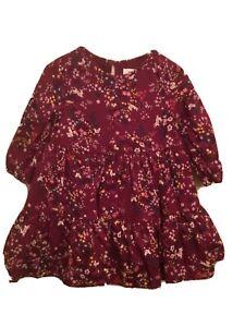 Girls Old Navy Fall Print Dress Size 5