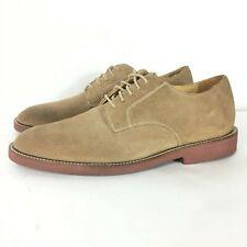 Neil M Oxford Brown Tan Suede Shoes Men's Size 11 160025