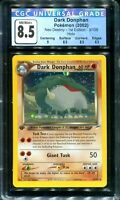 POKEMON - CGC 8.5 - DARK DONPHAN - NEO DESTINY 1ST EDITION -3/105 - HOLO  PSA