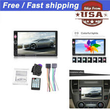 7Inch Double 7023B 2 DIN Car FM Stereo Radio MP5 Player TouchScreen Blue-tooth A