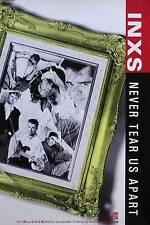 INXS 1988 Never Tear Us Apart Original Promo Poster