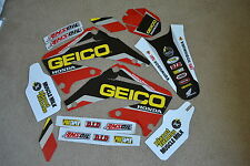 TEAM HONDA GEICO GRAPHICS HONDA CRF450R CRF450 2002 2003 2004