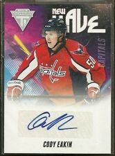 2011-12 Titanium Hockey Cody Eakin New Wave Autographed Rookie Card
