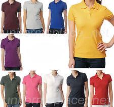 Dickies Shirt Juniors fit Girls Short Sleeve Pique Polo Shirt PQ924L Golf Shirts