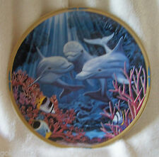 Lenox Dolphin Plate 1994 Let's Play Sea of Dreams Collection