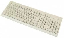 ps/2 104 tasten standard tastatur kabel ps2 stecker inkl 3 hot keys grau beige