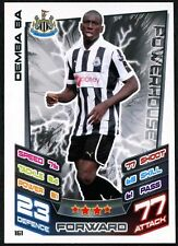 Demba Ba Newcastle Utd #161 Topps Match Attax Football 2012-13 Trade Card (C440)