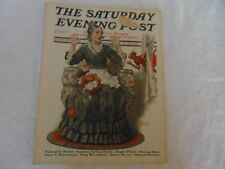 Illustrated  Saturday Evening Post October 29 1921 Stanley Halloween Cover Art