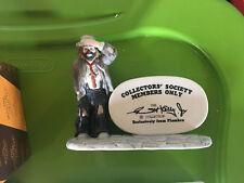 Members Only Collectors' Society Emmett Kelly Jr Miniature Sad Clown