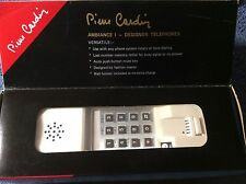 RARE PIERRE CARDIN PHONE Contemporary VINTAGE PUSH BUTTON NEVER USED IN BOX