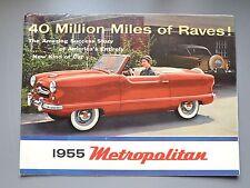 ✇ Nash METROPOLITAN 1955 us lutter-prospectus brochure