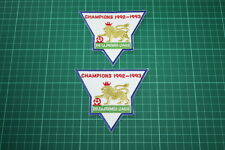 F.A. PREMIER LEAGUE GOLD-CHAMPIONS BADGES 1992-1993