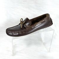 Cole Haan Gunnison II Mens Loafers Brown Leather Driving Moc size 8 M