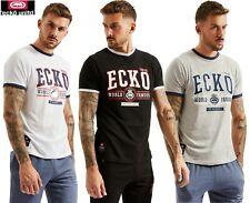 Ecko UNLTD Camiseta Para Hombre Casual Manga Corta Gráfico Impreso Cadillac