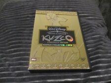 """COFFRET COLLECTOR 2 DVD """"KUZCO, L'EMPEREUR MEGALO"""" edition Francaise Disney N°60"""