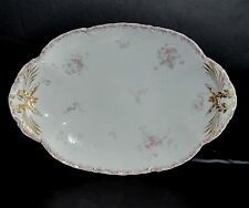 "RARE HAVILAND & CO LIMOGES FRANCE for RICHARD BRIGGS CO ~BOSTON~ 13 1/2"" PLATTER"