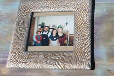 "Shabby Gold Textured Picture Photo Frame, 4.5"" x 4.5"" FREE SHIPPING!"