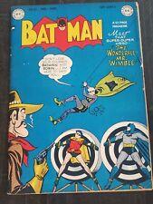 Batman #51 Golden Age DC Comic 1949 Nice Book Rare Penguin