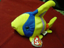 TY Beanie Baby Oriel the angel fish  Retired @ MWMTS With Tag protector